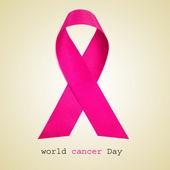 World cancer day background — Stock Photo