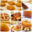Pastries collage — Stock Photo #65385707