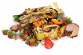 A pile of food waste — Stock Photo