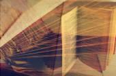 Meervoudige blootstelling van boeken — Stockfoto