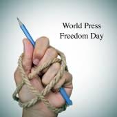 World press freedom day — Stock Photo