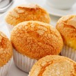 Magdalenas, typical spanish plain muffins — Stock Photo #74360711