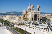 Cathedral of Saint Mary Major in Marseille, France — Stock Photo