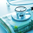 Постер, плакат: Health care industry or health care costs
