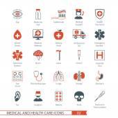 Medical ikony zestaw 02 — Wektor stockowy
