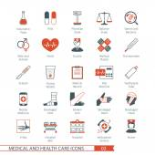 Medical Icons Set 03 — Stock Vector