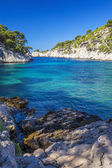 Famous calanques of Port Pin — Stock Photo