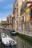 Beautiful view of a canal in Venice — Zdjęcie stockowe