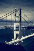 Famous Golden Gate Bridge, special photographic processing — Stock Photo