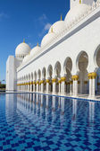 Sheikh Zayed mosque at Abu-Dhabi — Stock Photo