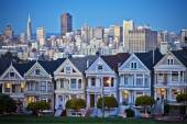 Famous Painted Ladies of San Francisco — Stock Photo
