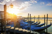 Sunset over the Gran Canal — Stock Photo