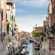 Panoramic view of Venice canal — Stock Photo #63987999