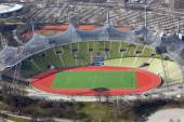 The olympic stadium in munich — Stock Photo