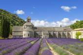 Famous Abbey of Senanque — Stock Photo