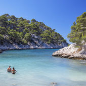 The famous Calanques national park of Cassis — Stock Photo