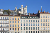 Lyon cityscape — Stock Photo