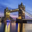 Famous Tower Bridge in the evening — Stock Photo #70464219