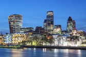 London Skyline At Night — Stock Photo