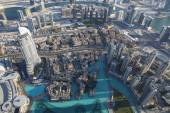 Aerial view of Dubai city — Stock Photo