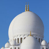 Part of Abu Dhabi Sheikh Zayed Mosque — Stock Photo