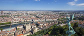 Panoramic view of Lyon — Stock Photo