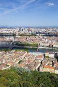 Vertical view of Lyon — Stock Photo