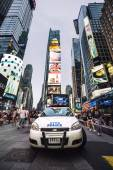 Police car in NYC — Stock Photo