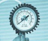 Manometer instrument — Stock Photo