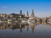 Drezno hofkirche — Zdjęcie stockowe