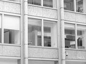 Black and white Economist building in London — Zdjęcie stockowe