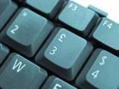 计算机键盘 — 图库照片