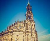 Dresden-hofkirche — Stockfoto