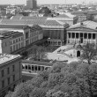 Black and white Museums island in Berlin — Stock Photo #52746121