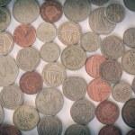 Retro look British pound coin — Stock Photo #52746875