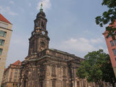 Kreuzkirche Dresden — Stock Photo