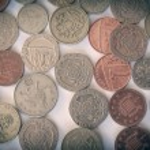 Retro look British pound coin — Stock Photo #52808651