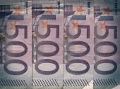 Billet euro look rétro — Photo