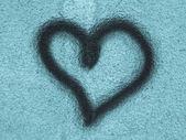 Heart symbol of love — Stock Photo