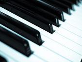 Muziek toetsenbord — Stockfoto