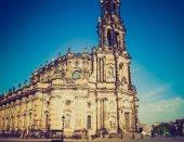 德累斯顿宫廷教堂 — 图库照片