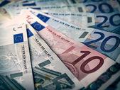 Cuadro look retro euros — Foto de Stock