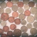 Retro look British pound coin — Stock Photo #53225499