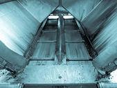 Asphalt machine — Stock Photo