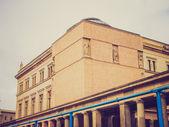 Look retro neues museum — Foto de Stock