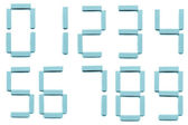 числа — Стоковое фото