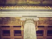 Retro look Altesmuseum Berlin — Stock Photo