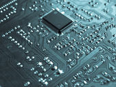 Printed circuit — Stock Photo