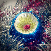 Retro look Christmas decoration — Stock Photo