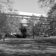 Постер, плакат: Black and white Hansaviertel in Berlin